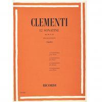 Clementi 12 Sonatine Op. 36, 37, 38 per pianoforte (Mugellini) - Ricordi