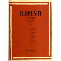 Clementi 12 Sonate per pianoforte Vol. 1 (Cesi) - Ricordi