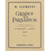 Clementi Gradus ad parnassum (Mugellini e Longo) Volume I - Edizione Curci Milano