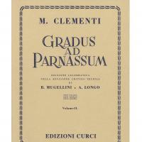 Clementi Gradus ad parnassum (Mugellini e Longo) Volume II - Edizione Curci Milano