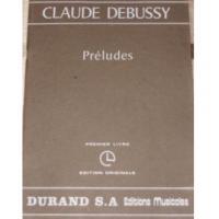 Debussy Préludes Deuxieme Livre Edition Originale - Durand s.a. Editions Musicales
