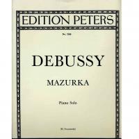 Debussy Mazurka Piano solo (H.Swarsenski)