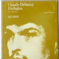 Debussy Préludes (2ème Livre) - Ricordi