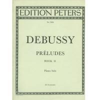 Debussy Préludes Book II Piano Solo (H. Swarsenski) - Edition Peters