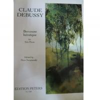 Debussy Berceuse héroique for Solo Piano (H. Swarsenski)