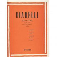 Diabelli Sonatine Op. 151 e 168 per pianoforte (Montani)