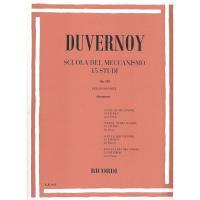 Duvernoy Scuola del Meccanismo 15 studi Op. 120 per pianoforte (Bergmann) - Ricordi