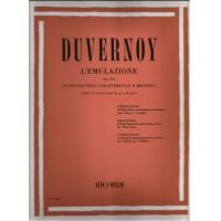 Duvernoy L'Emulazione Op. 314 20 Piccoli pezzi caratteristici e melodici per pianoforte a 4 mani - Ricordi