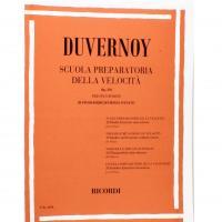 Duvernoy Scuola preparatoria della velocità Op. 276 per pianoforte 20 Studi esercizi senza ottave - Ricordi