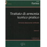 Farina Trattato di Armonia Teorico Pratico armonia consonante e dissonante naturale Volume 1 - Carisch