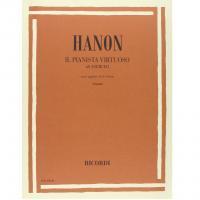Hanon Il pianista virtuoso 60 esercizi con le aggiunte di Schotte (Pozzoli) - Ricordi