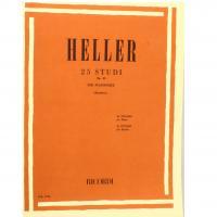 Heller 25 STUDI Op. 45 per pianoforte (Rattalino) - Ricordi