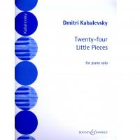 Kabalevsky Twenty-four Little pieces for piano solo - Boosey Hawkes