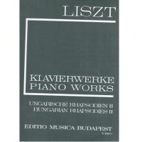 Liszt Klavierwerke Piano Works II - Editio Musica Budapest