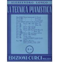 Longo La tecnica pianistica I A - Edizioni Curci Milano