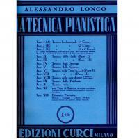Longo La tecnica pianistica I B - Edizioni Curci Milano