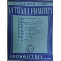 Longo La tecnica pianistica I C Edizioni Curci Milano