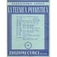 Longo La tecnica pianistica II - Edizioni Curci Milano