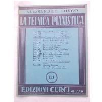 Longo La tecnica pianistica III - Edizioni Curci Milano