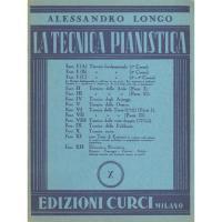 Longo La tecnica pianistica X - Edizioni Curci Milano