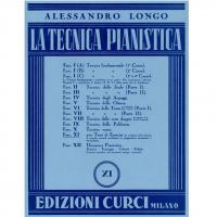 Longo La tecnica pianistica XI - Edizioni Curci Milano