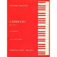 Martucci CAPRICCIO op. 78 n. 3 per pianoforte (Perrino) - Edizioni Curci Milano