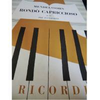 Mendelssohn Rondò capriccioso Op. 14 per pianoforte - Ricordi