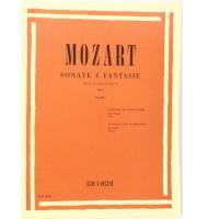 Mozart Sonate e Fantasie per pianoforte Vol. 1 (Casella) - Ricordi