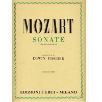 Mozart SONATE per pianoforte (Fischer) VOLUME PRIMO - Edizioni Curci Milano