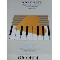 Mozart Tema con variazioni per pianoforte (Montani) - Ricordi