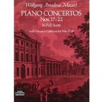 Mozart Piano Concertos Nos 17-22