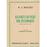 Mozart Raccolta di pezzi per pianoforte Composti all'età di 8 anni (Piccioli) - Edizione Curci Milano