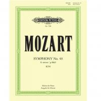 Mozart Symphony No. 40 G Minor K 550 Edition for Piano - Edition Peters