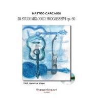Carcassi Matteo - 25 studi melodici progressivi op.60 - Fingerpicking.net