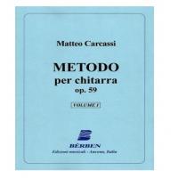 Carcassi Matteo - Metodo per chitarra op.59 volume 1 - Bèrben