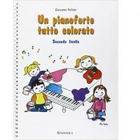 Polloni Un pianoforte tutto colorato Secondo livello - Sinfonica