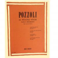 Pozzoli 24 Piccoli studi facili e progressivi per pianoforte - Ricordi