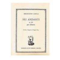 Carulli - Sei andanti op.320 - Edizioni Suvini Zerboni
