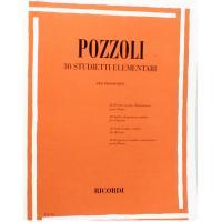 Pozzoli 30 Studietti Elementari per pianoforte - Ricordi