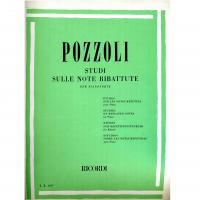 Pozzoli Studi sulle note ribattute per pianoforte - Ricordi