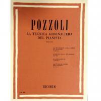 Pozzoli La tecnica giornaliera del pianista Parte I e II - Ricordi