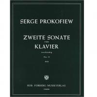 Prokofiew Zweite Sonate fur Klavier zweihandig Op. 14