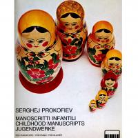 Prokofiev Manoscritti Infantili per pianoforte - Ricordi