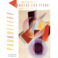 Prokofieff Sonatas For Piano Volume One Sonatas 1-5 - Authentic Edition Boosey Hawkes