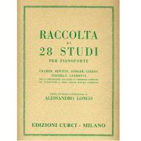 Raccolta di 28 Studi per pianoforte (Longo) - Edizioni Curci Milano
