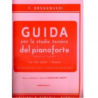 Rossomandi GUIDA per lo studio tecnico del pianoforte Divisa in 8 Volumi con testo Inglese e Spagnolo (Rosati) Fascicolo ll - Edizioni S. Simeoli