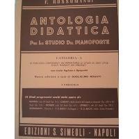 Antologia Didattica per lo studio del pianoforte Categoria - A (Rosati) X° Fascicolo