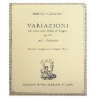 Giuliani Mauro - Variazioni op.45 - Suvini Zerboni