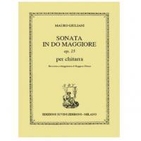 Giuliani Mauro - Sonata in do maggiore op.15 - Suvini Zerboni