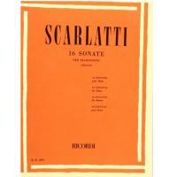 Scarlatti 16 Sonate per pianoforte (Silvestri) - Ricordi